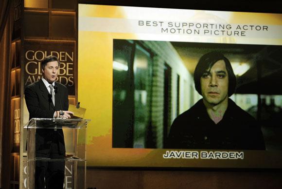 Javier Bardem se alza con el Globo de Oro como mejor actor de reparto