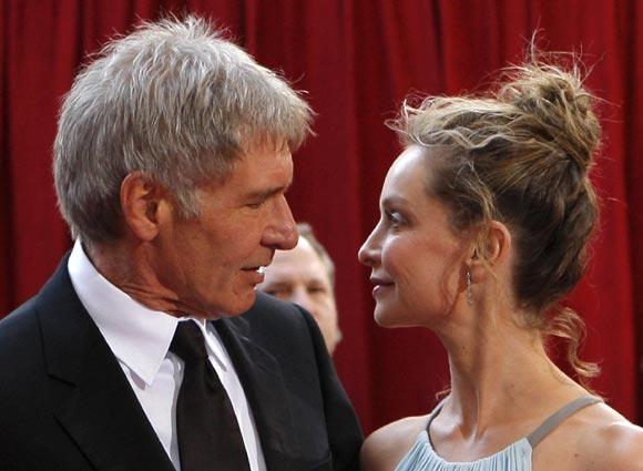 Harrison Ford y Calista Flockhart, cada vez más cerca del altar