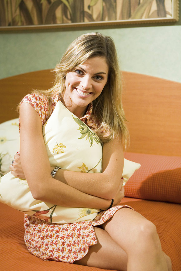 Cata, de 'Sin tetas no hay paraiso': 'Estoy muy enamorada de mi chico, el vocalista de Pignoise'