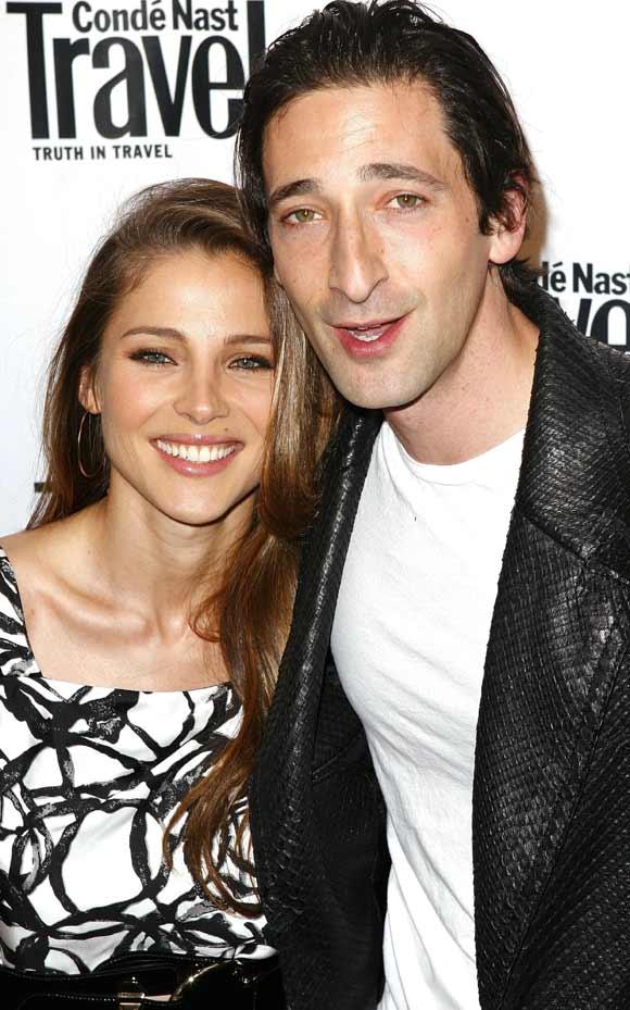 Adrien Brody y Elsa Pataky, amor en blanco y negro