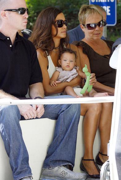 Nahla Ariela, la hija de Halle Berry, disfruta de su primera visita al zoo