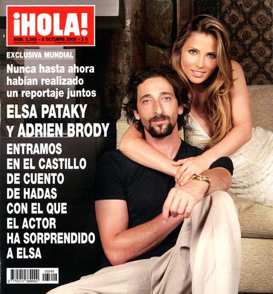 Exclusiva mundial: Elsa Pataky y Adrien Brody, en el castillo de cuento de hadas con el que el actor ha sorprendido a Elsa