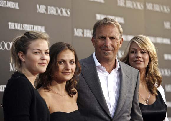 Kevin Costner será padre por sexta vez