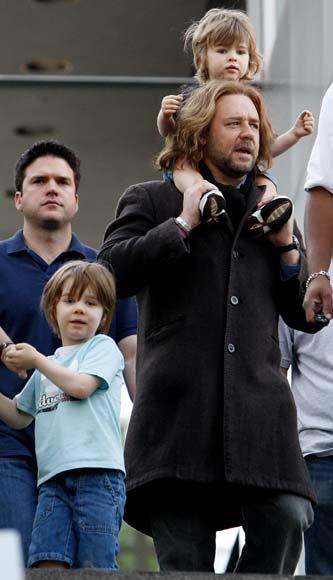 Russell Crowe: 'Mi hijo pequeño ya está comprometido con la hija de Nicole Kidman'