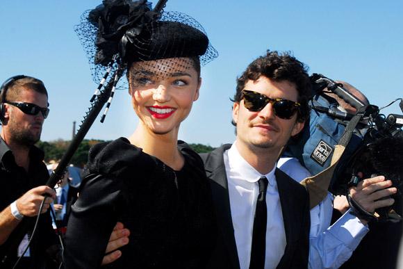 Orlando Bloom y Miranda Kerr, planes de boda para la próxima primavera