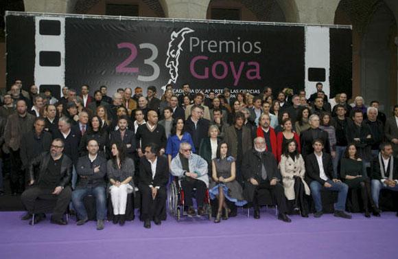 Fernando Tejero y Javier Cámara, los invitados más divertidos de la fiesta antesala de los Goya