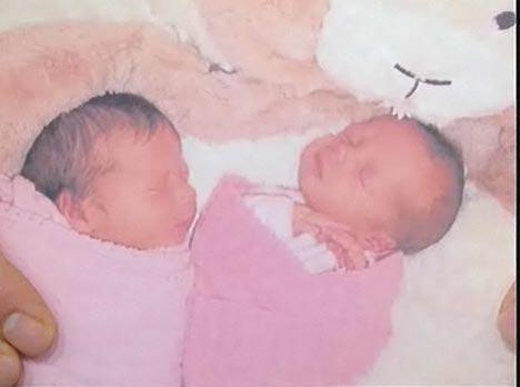 La primera foto de las gemelas de Rebecca Romijn y Jerry O'Connell