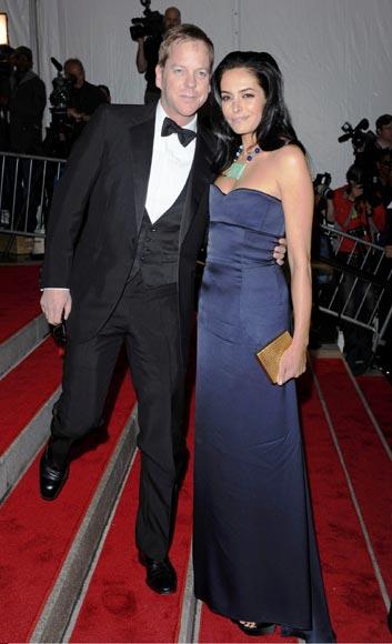 Kiefer Sutherland, envuelto en un escándalo en la 'noche de la moda'