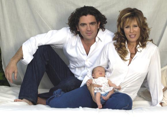 Miriam Díaz-Aroca y Stuart Washington inician los trámites de la separación legal de su matrimonio