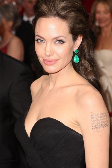Angelina Jolie, herida durante el rodaje de su última película, 'Salt'