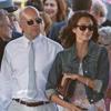 Bruce Willis y Demi Moore y sus respectivas parejas acuden a la graduación de su hija Scout LaRue