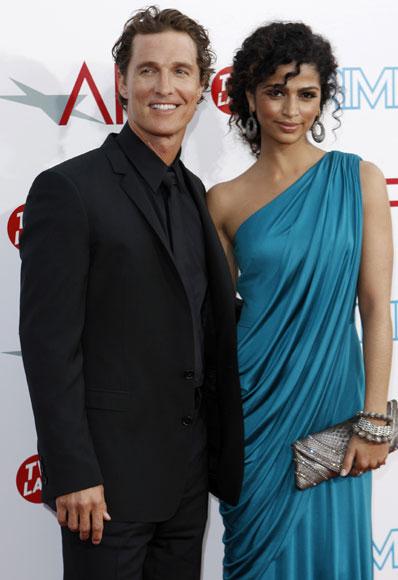Matthew McConaughey y Camila Alves esperan su segundo hijo
