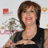 Concha Velasco recibe emocionada un homenaje de sus compañeros de la televisión