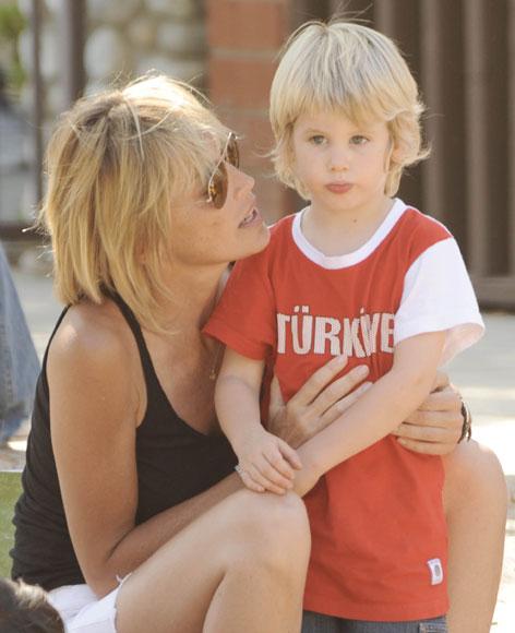 Sharon Stone: instinto maternal
