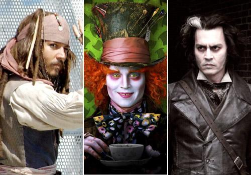 Las mil caras de Johnny Depp