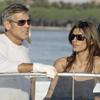 George Clooney presume de novia en el Festival de Venecia