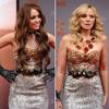 Miley Cyrus y Kim Catrall coinciden con el mismo vestido en un estreno