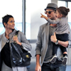 Halle Berry, su novio, Gabriel Aubry, y su hija, Nahla: una familia unida por un mismo estilo