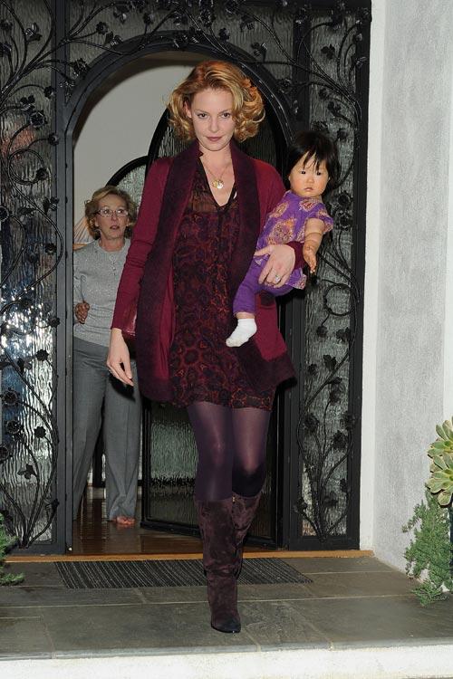 Triple celebración para Katherine Heigl: su cumple, el de su hija Naleigh y la maternidad de su hermana