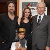 Angelina Jolie, Clint Eastwood y Kate Beckinsale se llevan a sus hijos de estreno