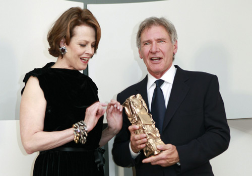 Harrison Ford, estrella indiscutible en la gala de los Premios César