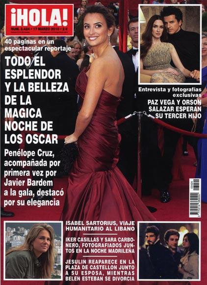 En ¡HOLA!: Todo el esplendor y la belleza de la mágica noche de los Oscar