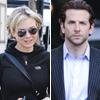 Una enamorada Renée Zellweger visita a su novio, Bradley Cooper, en el set de rodaje de 'Dark Fields'