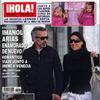 Exclusiva en ¡HOLA!: Imanol Arias enamorado de nuevo. Romántico viaje junto a la diseñadora Irene Meritxell a Venecia