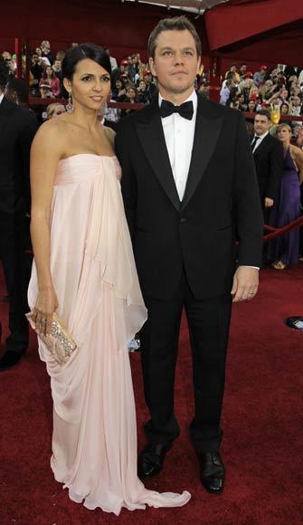 Matt Damon y Luciana Barroso volverán a ser padres