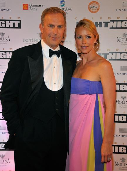 Kevin Costner y Christine Baumgartner se han convertido en papás por tercera vez