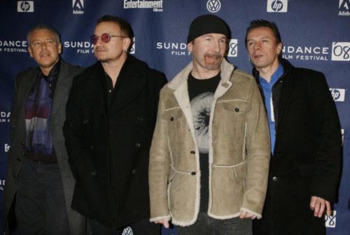La banda U2 vuelve a figurar en la lista, este año en séptimo lugar