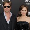Angelina Jolie y Brad Pitt derrochan complicidad en el estreno de 'Salt'