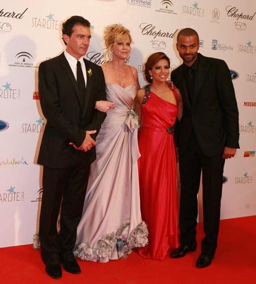 Antonio Banderas y Eva Longoria, anfitriones de la fiesta solidaria más 'glamourosa' del verano en Marbella