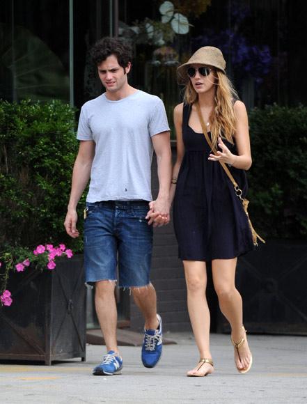 Blake Lively y Penn Badgley y Jessica Szohr y Ed Westwick, parejas dentro y fuera de los platós de 'Gossip Girl'