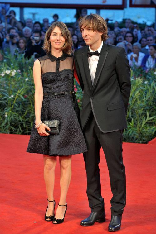 Sofia Coppola y Thomas Mars
