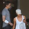 Halle Berry y Olivier Martínez, juntos hasta en el médico
