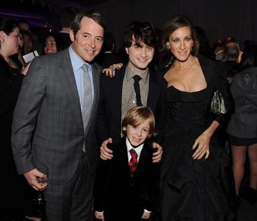 La emoción del hijo de Sarah Jessica Parker al conocer a las estrellas de 'Harry Potter' en Nueva York