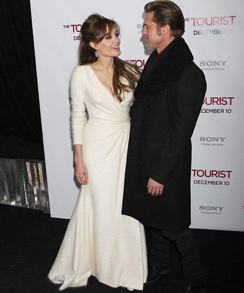 Angelina Jolie, espectacular en la 'première' neoyorquina de 'The Tourist'