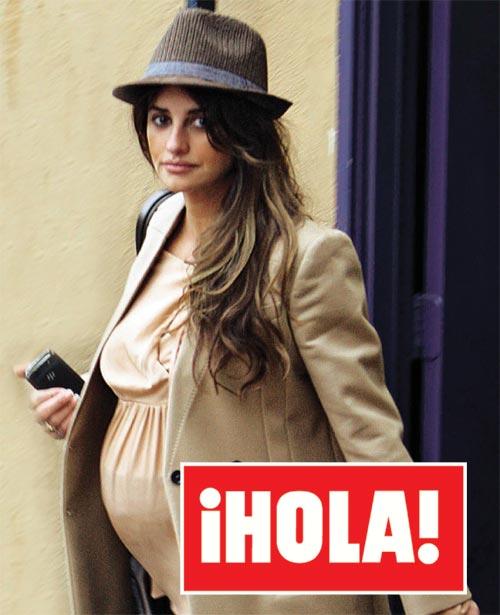 El estilo de Penélope Cruz, a punto de dar a luz a su primer hijo