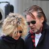 Nueva pareja en Hollywood: Meg Ryan y John Mellencamp pasean su amor por el Soho