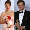 Natalie Portman, Colin Firth y 'La Red Social', triunfadores en los Globo de Oro