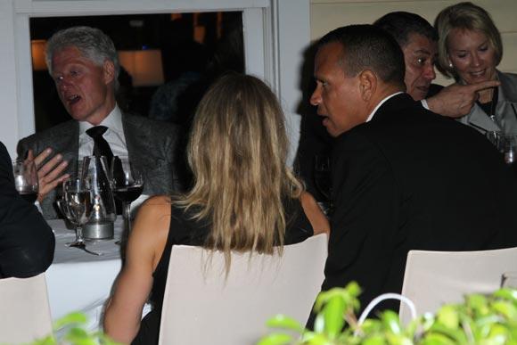 Cameron Díaz y su novio Álex Rodríguez, cita para cenar con Bill Clinton