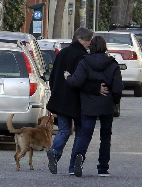 Viggo Mortensen y Ariadna Gil, la viva imagen de la felicidad