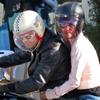 Halle Berry y Olivier Martínez, amor sobre ruedas