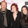 Bruce Willis y Demi Moore, el mejor apoyo de su hija Rumer en su debut teatral