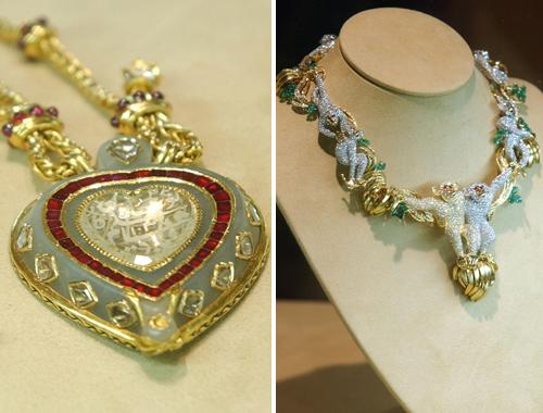 Dos piezas de la espectacular colección de joyas de la actriz
