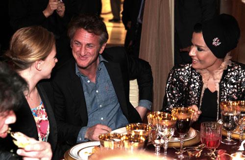 Scarlett Johansson y Sean Penn