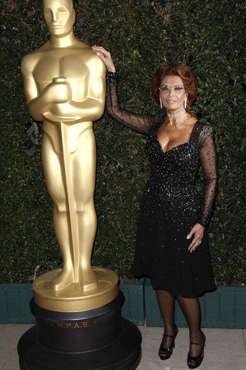 Sofía Loren, homenaje en Hollywood
