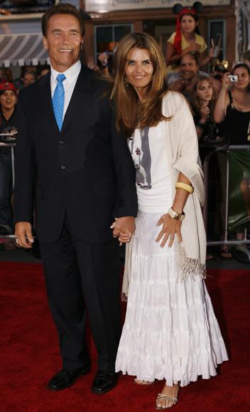 Arnold Schwarzenegger y María Shriver anuncian su separación
