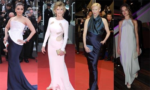 Aishwayra Rai, Jane Fonda, Tilda Swinton, Natalia Vodianova